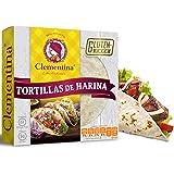 Clementina tortillas de harina sin gluten (3 paquetes de 8 pzas c/u)