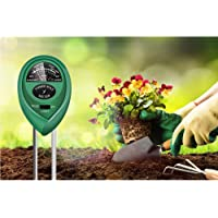 3 in 1 Moisture Meter (No Battery Needed), Reayouth Soil Tester,Soil PH Meter Gardening Tools for PH, Light & Moisture…