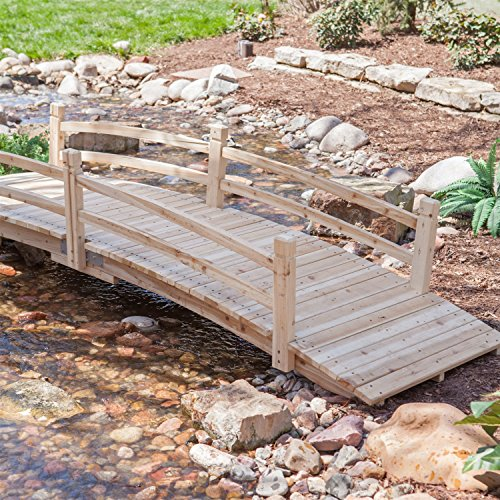 12-ft-wooden-garden-bridge-with-rails-in-unfinished-fir-wood