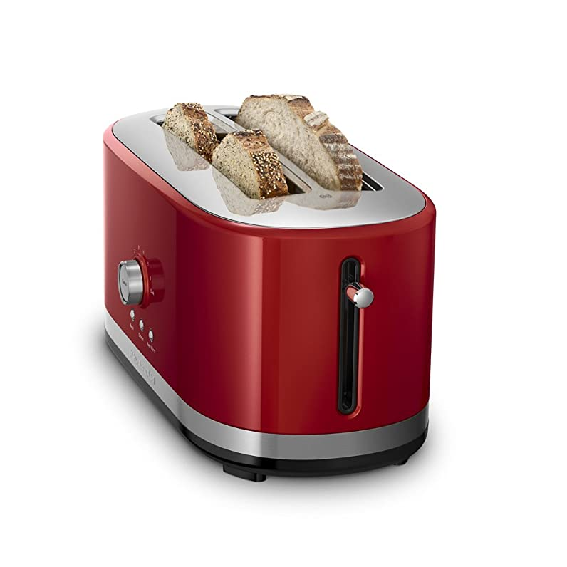 KitchenAid 4-Slice Long Slot Toaster with High Lift Lever, Empire ...