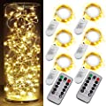 OakHaomie Fairy Lights,Led String Lights,8 Modes Twinkle lighgts with Remote Control