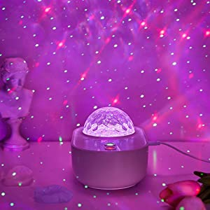 Star Projector,Galaxy Night Light Bluetooth Starlight White Noise Bedroom Music Skylight,Cloud Ocean Wave Timer Room Decor Adult Remote Space Lamp,Ceiling Sky Lite Toddler Kids Birthday Teen Girl Gift