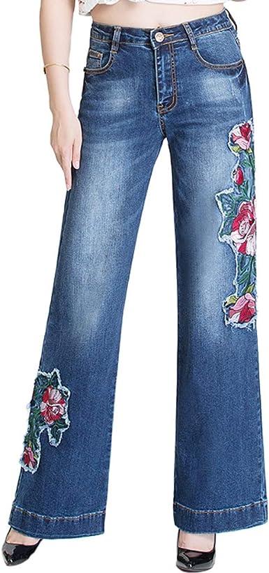 Beauty Garden Pantalones Vaqueros Para Mujer Cintura Alta Color Azul Claro Amazon Es Ropa Y Accesorios