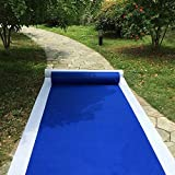 HUAHOO Aisle Runners Wedding Accessories Royal Blue Aisle Runner Carpet Rugs for Step and Repeat Display, Ceremony Parties and Events Indoor or Outdoor Decoration 24 Inch Wide x 15 feet Long