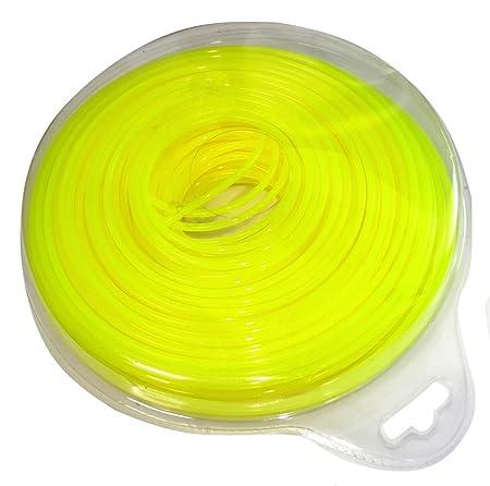 AERZETIX: Hilo de nylon perfil redondo 3mm 56m para desbrozadora ...