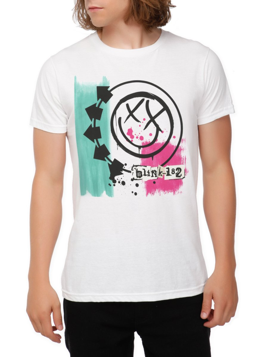 Galleon Blink 182 Self Titled T Shirt