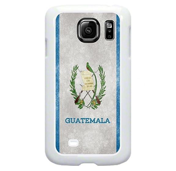 Amazon Guatemala Grunge Flag Tm Samsung Galaxy S7 Edge White