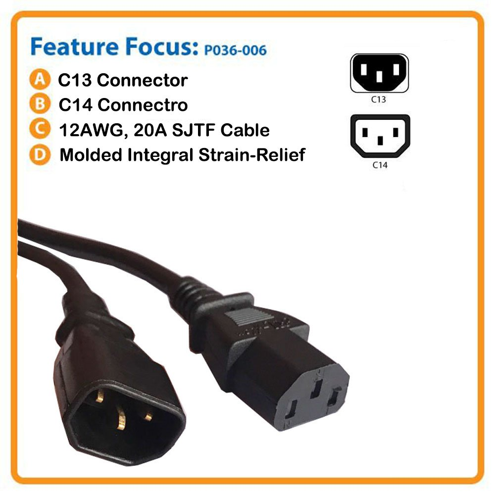 Mains Power Cable Uk Plug To Iec C13 Male C14 Female 5amp 18 Iec320 Wiring Connector C15 Computer Socket Meter Long Pack Of 4 Buy