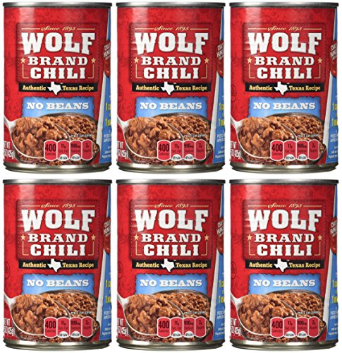 Wolf Brand No Beans Chili - 6/15 oz. Cans (Chili)