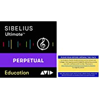 Sibelius Ultimate Music Notation Software for Students and Teachers (Download Card)