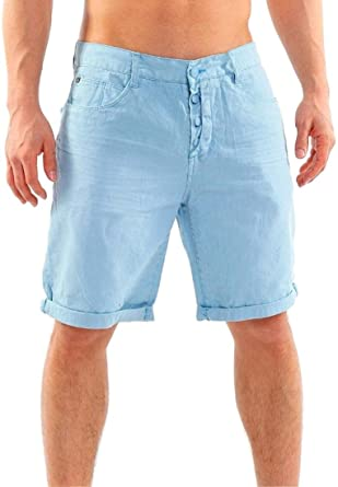 Sublevel by 98-86 Herren Denim Jeans Chino Bermuda Short: Amazon.de:  Bekleidung