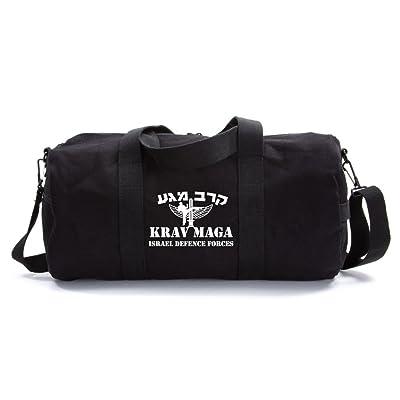 85%OFF Krav Maga Martial Arts Israel Defence Forces Arts Army Sport Canvas  Duffel Bag 74cef4faf8
