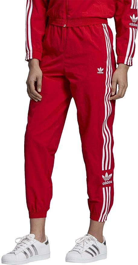 adidas Originals Damen Jogginghosen Lock Up rot 38: Amazon