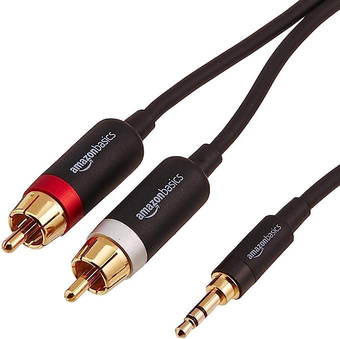 Dvd Altoparlanti TV Home Theater Amplificatore etc. MP3 Tablet Syncwire Cavo Audio 3,5mm a RCA Maschio 3M Cavi Connettore Audio Stereo Aux RCA Adattatore Nylon Intrecciato per Smartphone