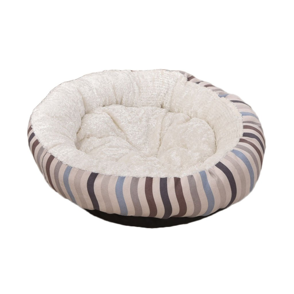 Pet Bed Striped Cloth Kennel Soft and Comfortable Waterproof Non-Slip Durable Pet Bed