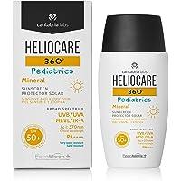 Heliocare 360º Pediatrics Mineral SPF 50+ - Crema Solar para Cara y Cuerpo de Niños y Bebés, Fluida y Filtros 100…