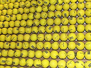 100 TaylorMade Yellow AAA Range Golf Balls by Golf Ball Country