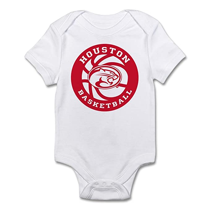 310442c288a CafePress Houston Basketball - Cute Infant Bodysuit Baby Romper  Amazon.ca   Clothing   Accessories