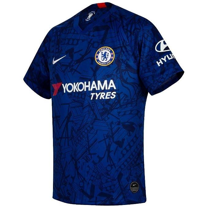 Amazon.com: Nike Chelsea Home Stadium 2019-2020 - Camiseta ...