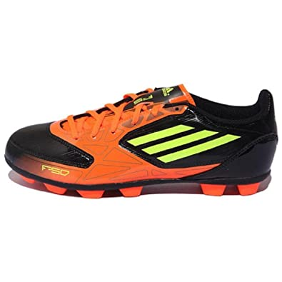 adidas F10 TRX FG, Scarpe da Calcio Uomo, Arancione (Black