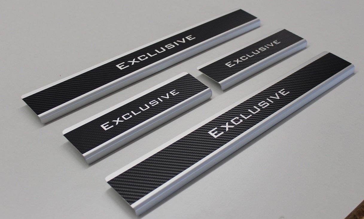 Soglie delle porte con piega Carbon Alu vernice protettiva porta schweller Exclusive Stovad