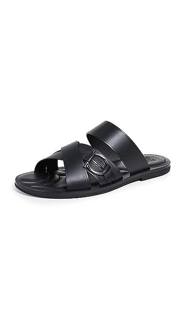 83b74ac23 Amazon.com  Salvatore Ferragamo Men s Atina Leather Sandals  Shoes