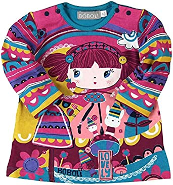 boboli Knit Stretch Dress for Girl Vestito Bambina