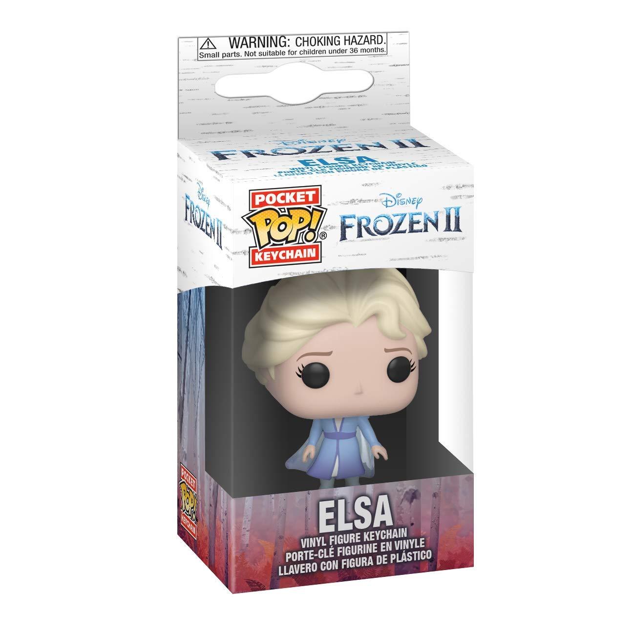 Disney Frozen 2 Elsa Pocket Pop! Llavero Figura: Amazon.es ...