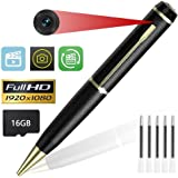 KIMUVIN Spy Pen Camera,16GB 1080P Full HD Mini Hidden Camera Pen Video Photo Recorder Dvr (2018)