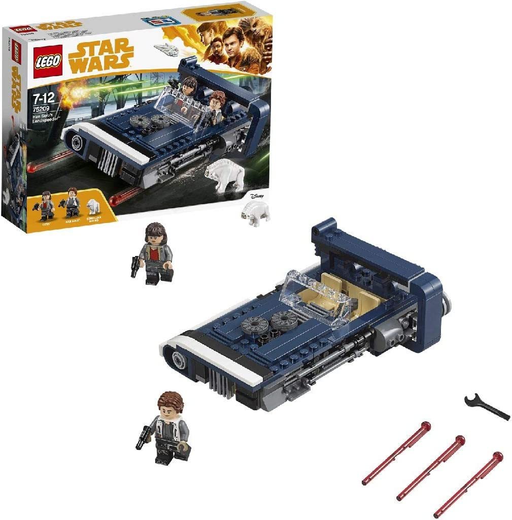 LEGO Star Wars Han Solo'S Landspeeder Toy Incl. Han Solo & Qi'ra Minifigures