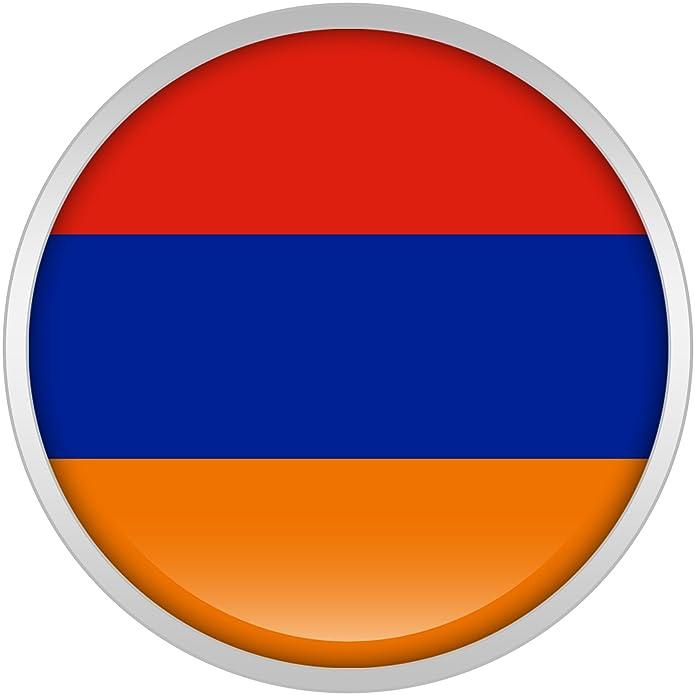 Cuerpo Caramelo Acero Inoxidable Bandera del Armenia Dilatador Ajuste Rosca Par 20mm: Amazon.es: Joyería