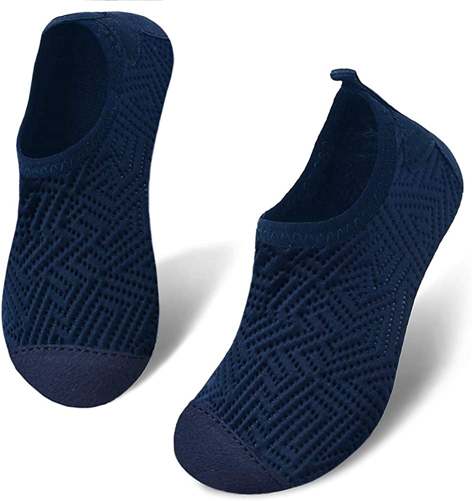 HooyFeel Kids Toddler Water Shoes Barefoot Aqua Socks Shoes for Beach Swim Quick Dry Non-Slip Water Skin for Boys Girls