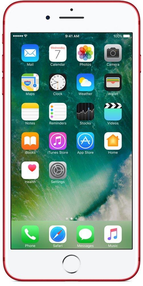 Apple iPhone 7 Plus (Red, 128GB)