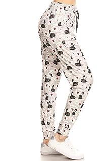 b68e41a9f Amazon.com  Leggings Depot Premium Jogger Women s Popular Print and ...