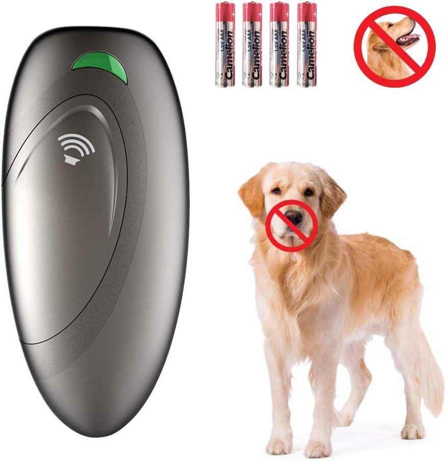 Dispositivo Antiladridos, Disuasor Ultrasónico Portátil de para Perros VINSIC Controlador de Perros Seguro e Indoloro para Uso en Interiores y Exteriores Sin Collar Ayuda para Adiestramiento de Perros