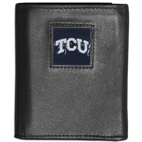 NCAA TCU Horned Frogs Leather Tri-fold ()