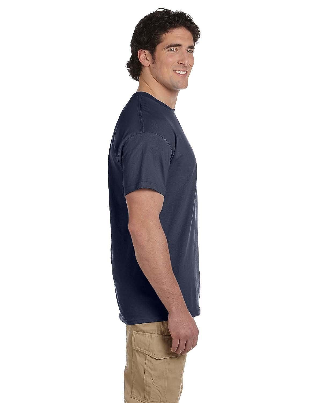 Gildan Mens Ultra Taped Neck Preshrunk Jersey T-Shirt