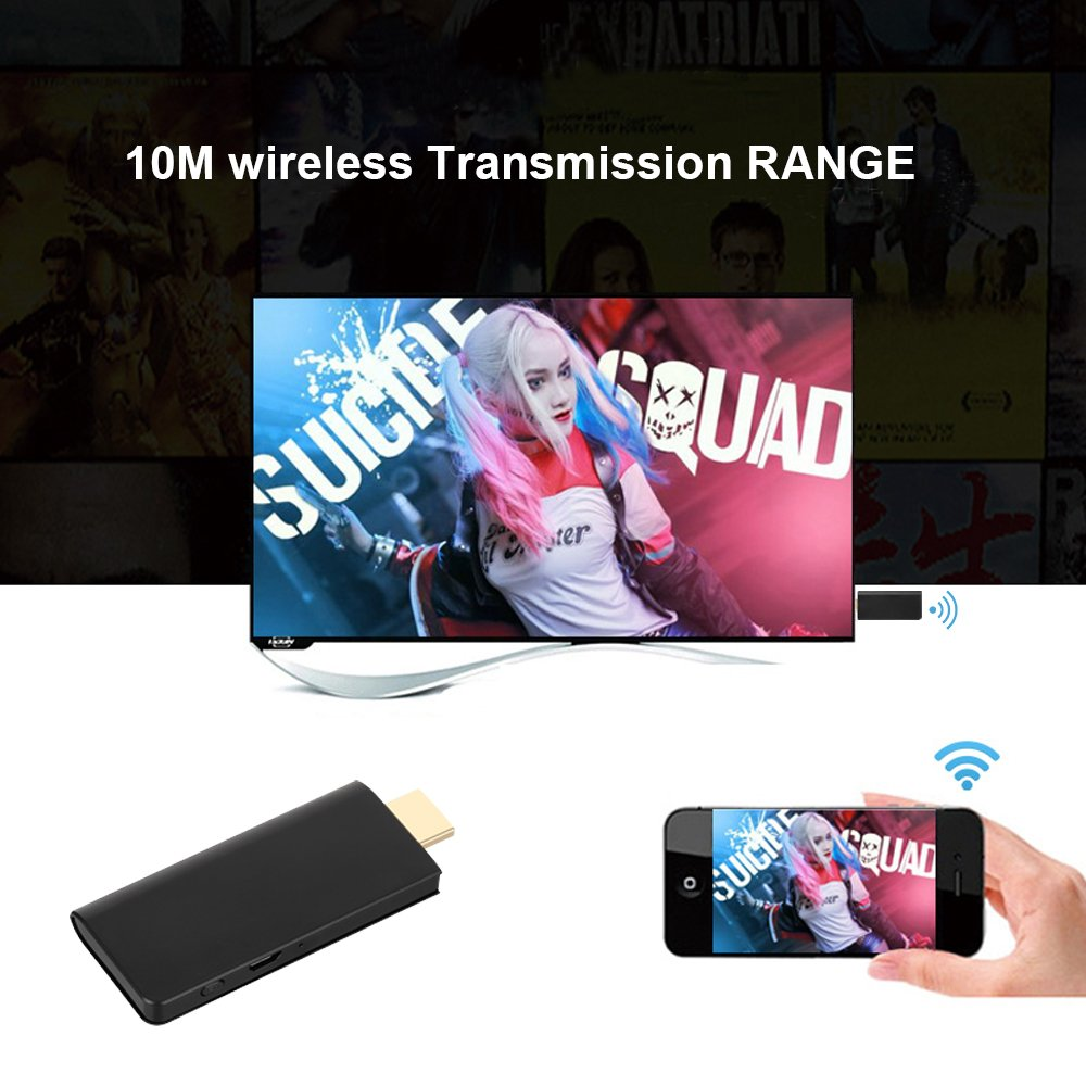 E28 WiFi Display Dongle,Mbuynow Super Slim inalámbrico HDMI HD Miracast Dongle,Soporta Google Chromecast Miracast DLNA Airplay Conversión de Airplay Mirroring,Compatible con Android/IOS/Windows/ MAC
