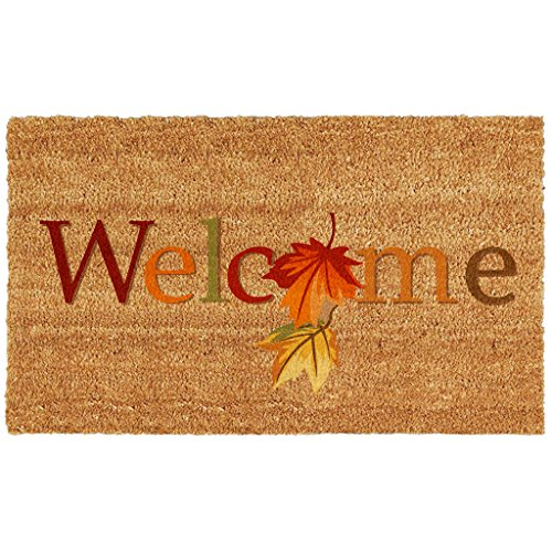 Home & More 121301729 Fall Beauty Doormat, 17'' x 29'' x 0.60'', Multicolor by Calloway Mills