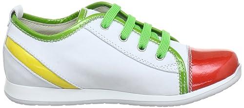 Lepi 2169Lec, Chaussures basses fille - Multicolore (Art.2169 C.03 Bianco/ Rosso/Verde), 31 EU: Amazon.fr: Chaussures et Sacs