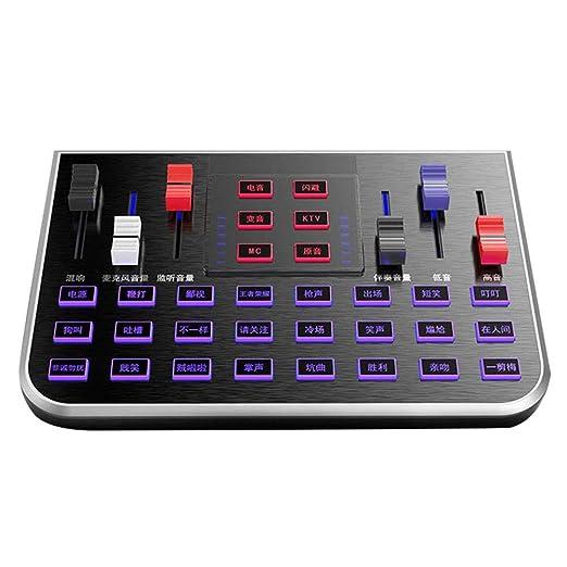 Phnirva Audio Mezclador Sonido Tarjeta, Estudio Modo Audio ...