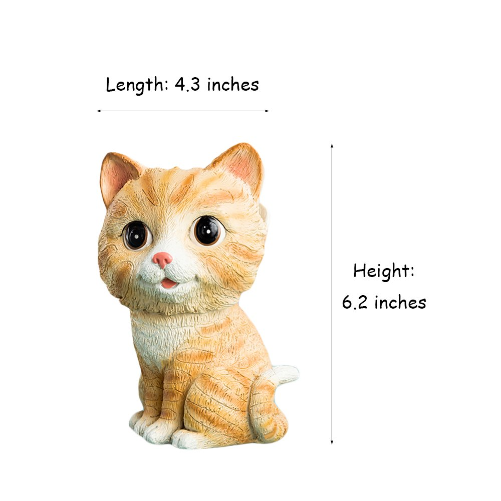 44feef87a Amazon.com: FLYING BALLOON Cute Yellow Cat Animals Shaped Resin Eyeglass Holder  Spectacle Display Stand Home Decoration Best Gift for Kids Friends: Home &  ...