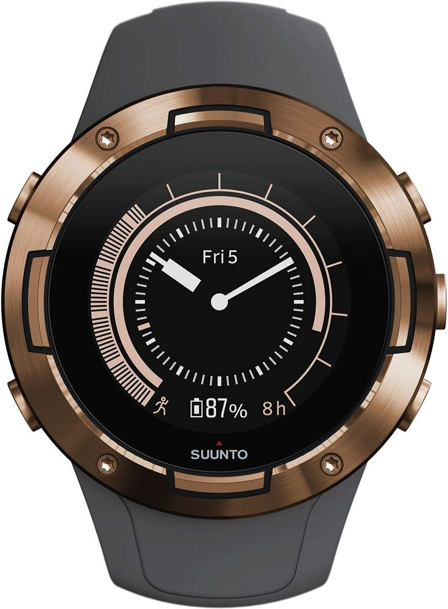 SUUNTO 5 Multisport GPS Watch with Wrist-Based Heart Rate Sensor