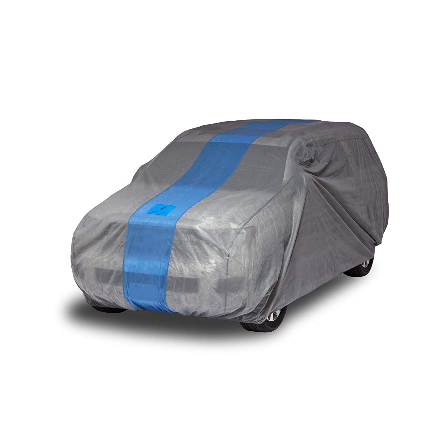 Limited 2 Year Warranty Duck Covers Defender SUV//Truck Cover All Weather Protection Fits SUVs or Trucks with Shell or Bed Cap up to 17 ft 5 in.