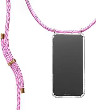 /Étui pour t/él/éphone Portable avec Cordon KNOK Case /Étui pour t/él/éphone Portable avec dragonne pour Huawei P30 Pro