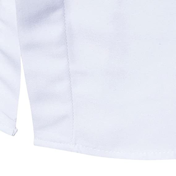 Resplend Trajes Ocasionales Formales Oxford de la Manga Larga para Hombre Camisas de Vestir Ajustadas de la Camiseta de la Blusa: Amazon.es: Ropa y ...