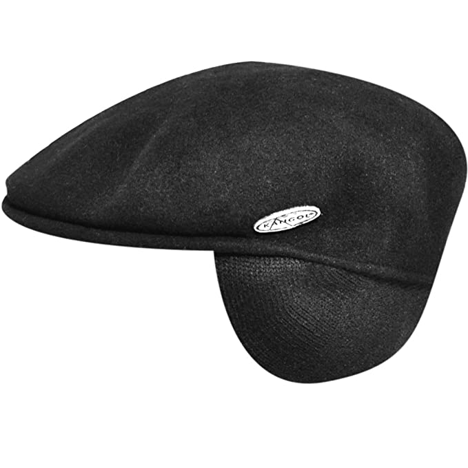 2272377459b47 Kangol Mens Wool 504 Earlap Hat  Amazon.ca  Clothing   Accessories