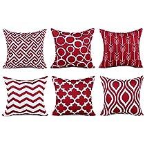 Top Finel 100% Durable Cotton Linen Square Decorative Throw Pillows Cushion Covers Pillowcases Creative New Design.