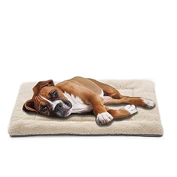 Amazon.com: INVENHO - Alfombrilla de cama para perro, cómoda ...
