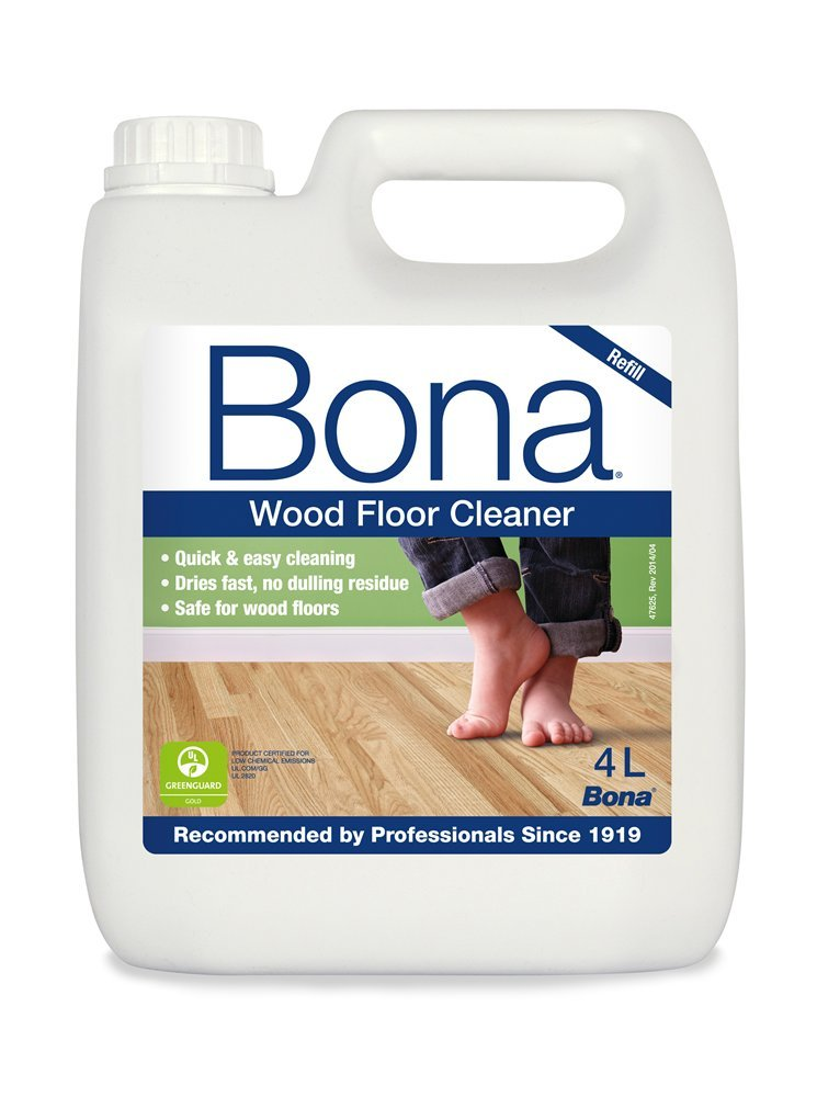 Bona 4L Wood Floor Cleaner Refil